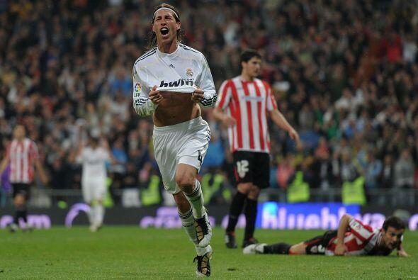 Sergio Ramos hizo un gran gol para aumentar la ventaja que mantiene al M...