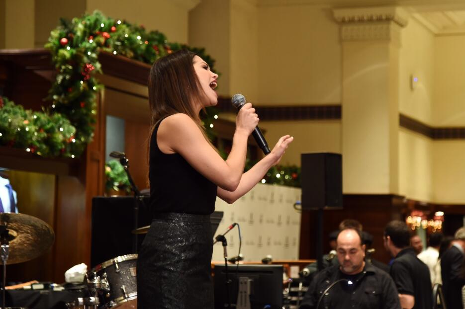 Bianca Marroquín se ha destacado en el teatro musical de Broadway.