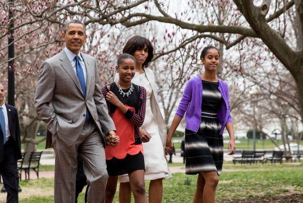El presidente estadounidense Barack Obama advirtió a sus hijas so...