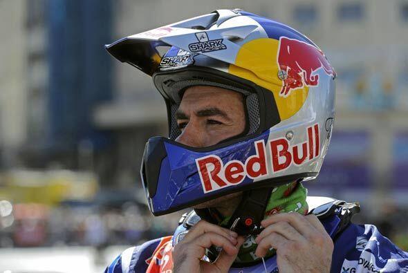 El motociclista portugués Rubén Faria salió como uno de los favoritos de...