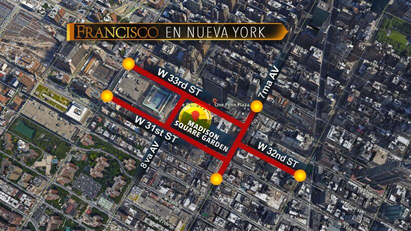 Calles de Manhattan cerradas