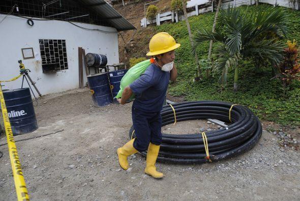 El accidente minero de Portovelo, en jurisdicción de la provincia coster...