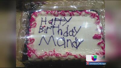 Un pastel de cumpleaños se vuelve viral