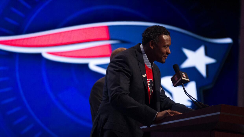 Durante el Draft 2014 cuando los 'Pats' tomaron al QB Garoppolo (AP-NFL)