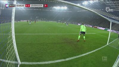 ¿Fue mano? Con otra polémica, Alario pone el 0-2 contra el Schalke