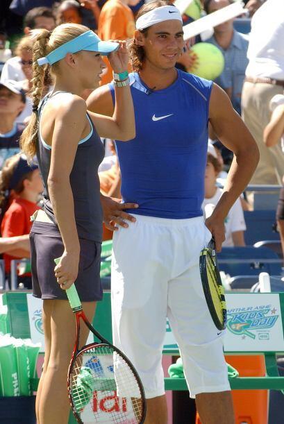 Ha jugado junto al número uno mundial, Rafael Nadal... ¡son grandes amigos!
