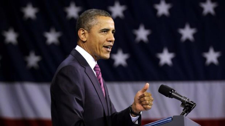 El presidente Barack Obama rinde este martes ante el Congreso su quinto...