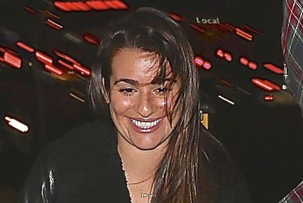 Mira cómo nos topamos a Lea Michele este fin de semana.