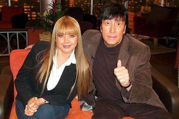 La comediante femenina Patricia Silva y Memo Ríos mostraron sus mejores...