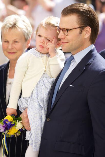 La princesa Estelle de Suecia se robó el corazón de chicos...