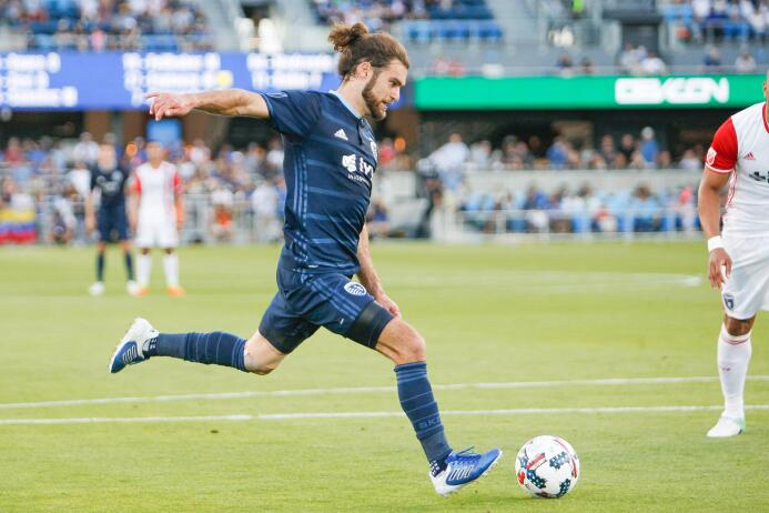 Graham Zusi Sporting Kansas City