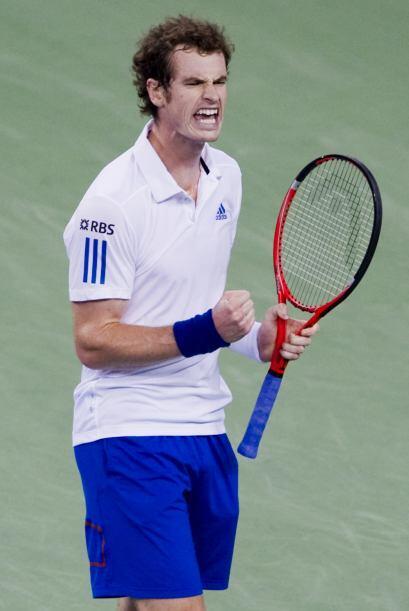 Murray tiene ahora dieciséis títulos en su palmarés, en los que todavía...