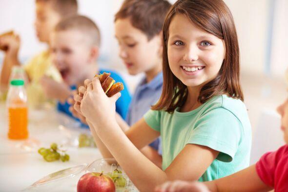 Tu niño tiene más control sobre lo que come al almorzar en la escuela qu...