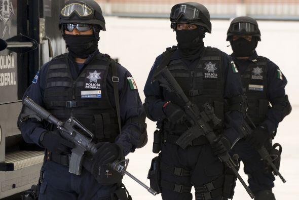 El vocero en materia de seguridad del gobierno federal, Alejandro Poiré,...