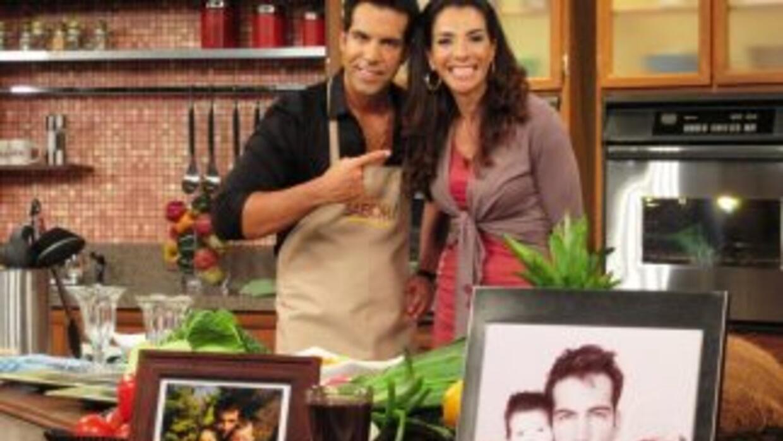 Maggie comparte recetas y anécdotas con Felipe Viel
