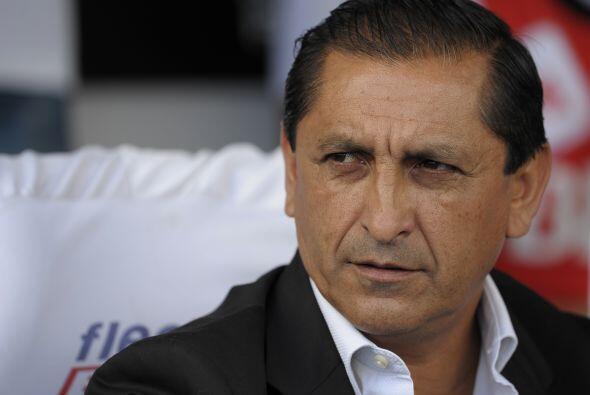 """El argentino Ramón """"Pelado"""" Díaz, que ocupa el cargo desde diciembre tam..."""