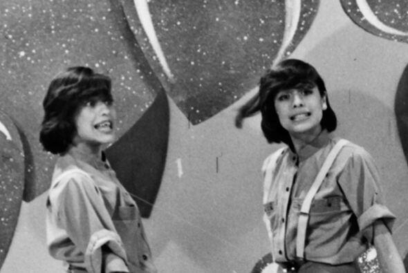 En este programa cómico también participaban las gemelas Ivonne e Ivette.