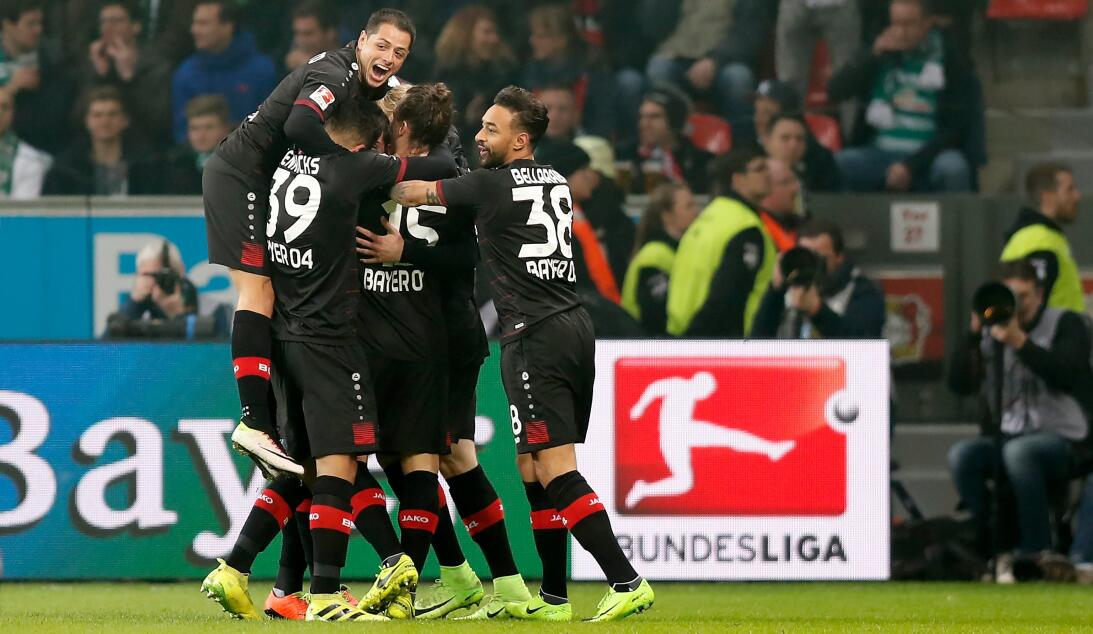 Tercer partido sin poder ganar para el Leverkusen en la Bundesliga 63624...