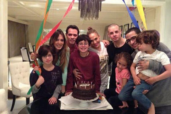 La foto con Marc que demostró que eran una familia muy, pero muy unida....
