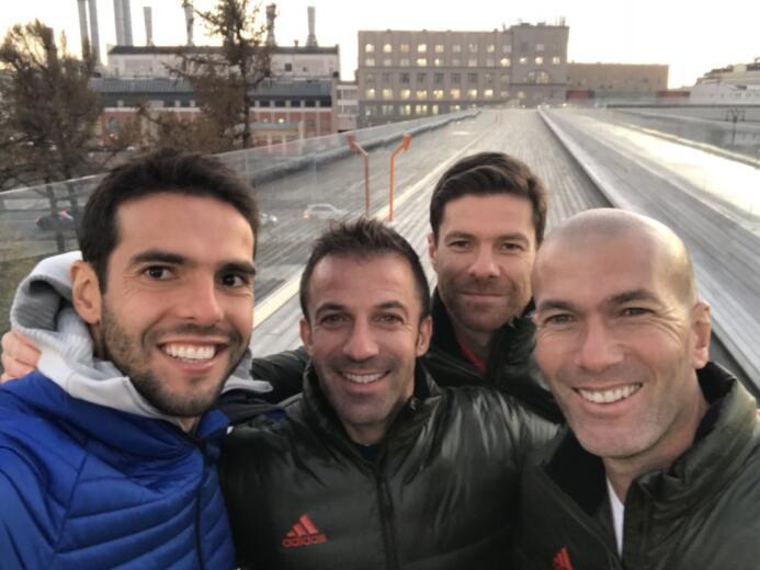 A finales del 2017 estos cuatro campeones del mundo viajaron a Rusia par...