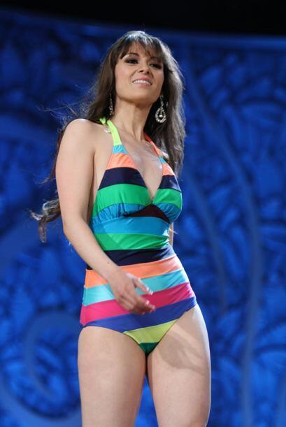 Maribel de Santiago no fue la más linda de 2011. Sin embargo, nos dio mu...