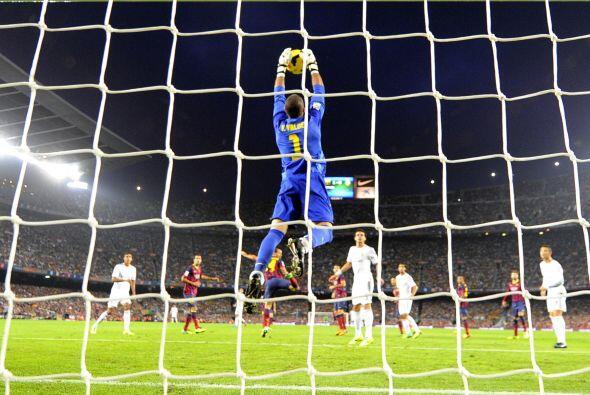 El portero del Barcelona comenzó a ser importante.