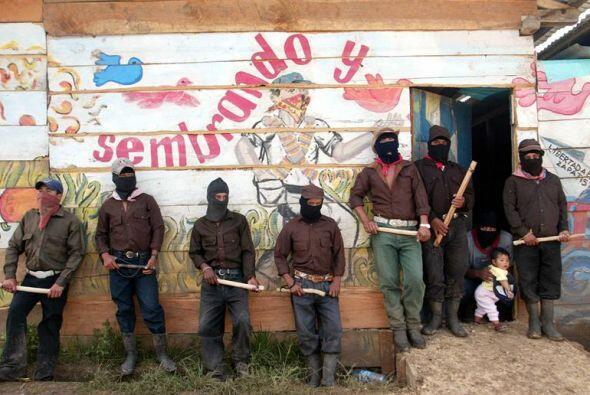El alzamiento zapatista de México cumple este miércoles su vigésimo aniv...