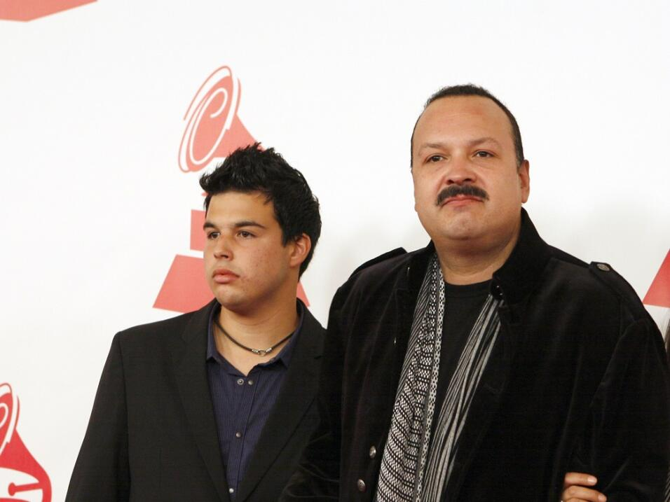Son of mariachi star Pepe Aguilar arrested at border with four people in...