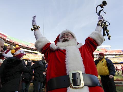 El espíritu navideño y competitivo a todo lo que da en la...