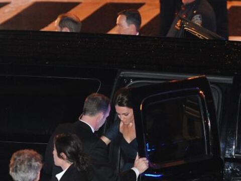 Kate y William cumplieron con su último compromiso oficial durant...