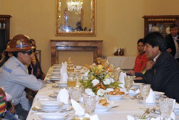 """Morales dijo en un desayuno con corresponsales la semana pasada que """"aqu..."""