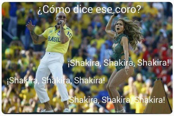 Hasta el público pedía a Shakira. Todo sobre el Mundial de Brasil 2014.