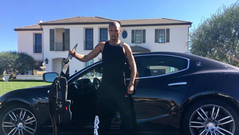 un Maserati de $150,000.