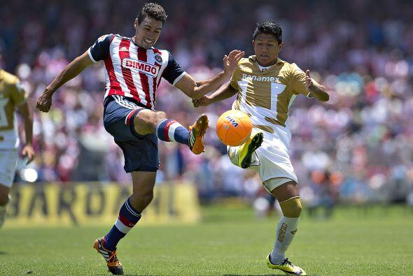 La última ocasión que los Pumas vencieron al Guadalajara en la Perla Tap...