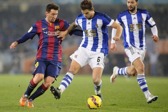 El Barcelona se quedó con las ganas de ver festejar a Lionel Messi, pero...