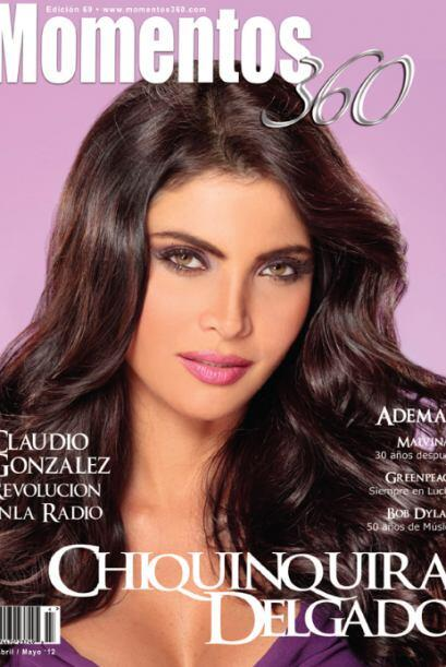 Para 'Momentos 360 Magazine', Delgado compartió con la editora de la rev...