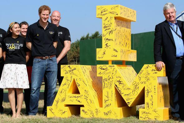 Príncipe Harry dio incio a los Invictus Games