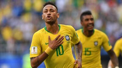 En fotos: Seguimiento a Neymar, la figura de Brasil contra México