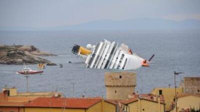 El barco Costa Concordia está asegurado por $30 millones.
