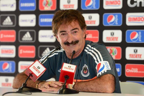 Primero los estrellados: Ricardo Lavolpe llegó a Chivas para sacarlos de...