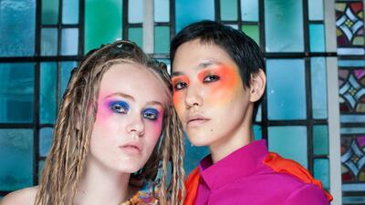 Las 12 propuestas de maquillaje más creativas de London Fashion Week