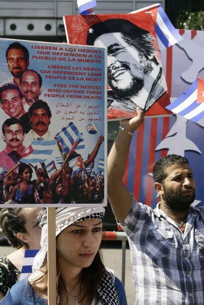 """""""Grupo de los 5""""   2.-Ramón Labañino Salazar  (La Habana 9 de junio de 1..."""