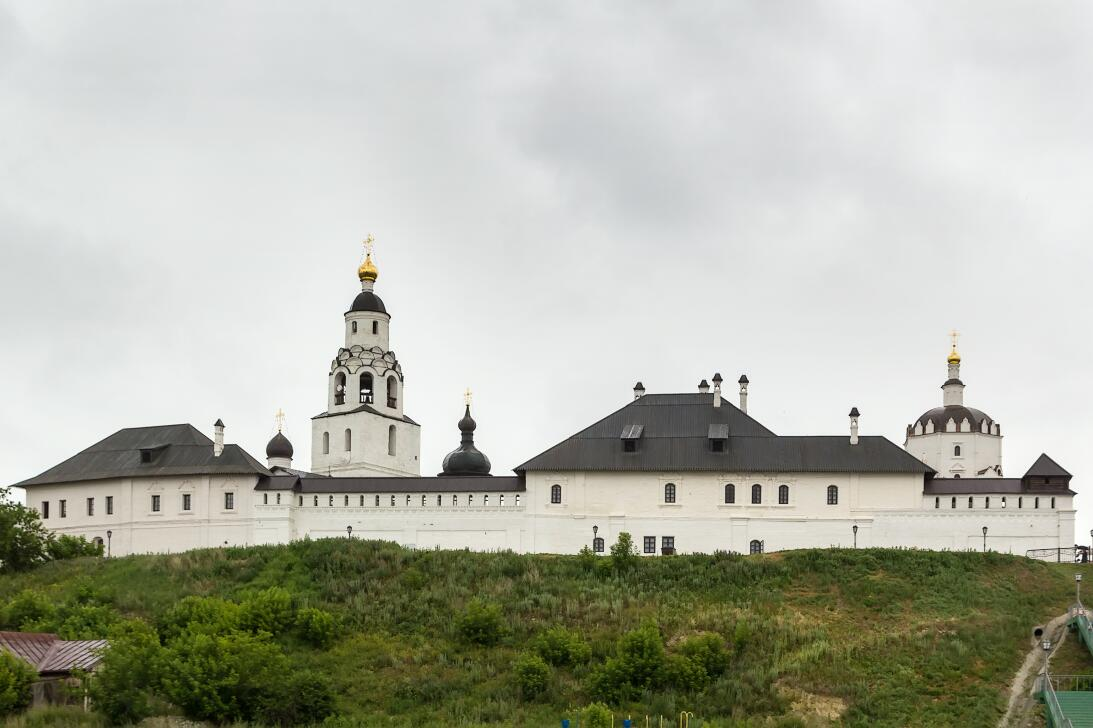 Russia: Assumption Cathedral and Monastery of Sviyazhsk