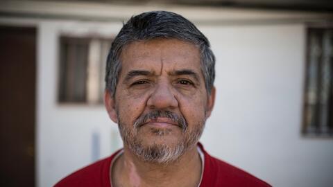 Germán Jiménez, un mexicano de 57 años que fue depo...
