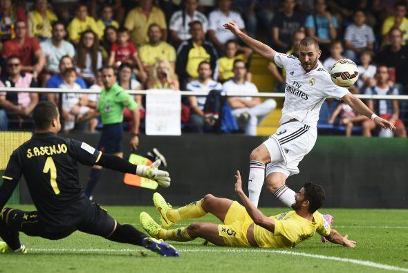 Benzema cumplió en su papel de dar asistencias y propició...