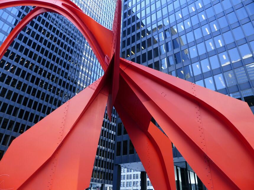 La ciudad regala las mejores postales. Así es el centro de Chicago.