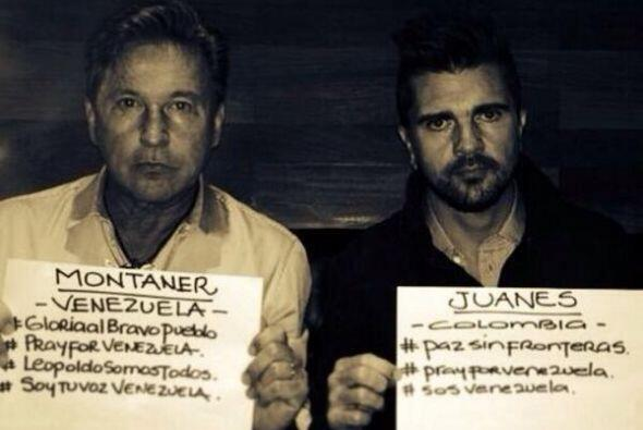 El venezolano Ricardo Montaner, publicó una foto en su Facebook en la qu...