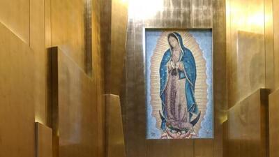 El artista michoacano que honró a la Virgen de Guadalupe de la Catedral de Nuestra Señora de Los Ángeles