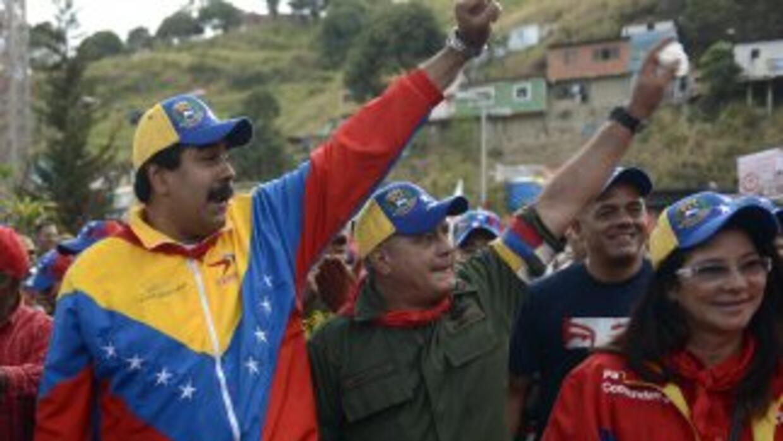 Nicolás Maduro y Diosdado Cabello.