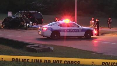 Una persona muerta y otra herida es el saldo de un grave accidente de tránsito en Dallas